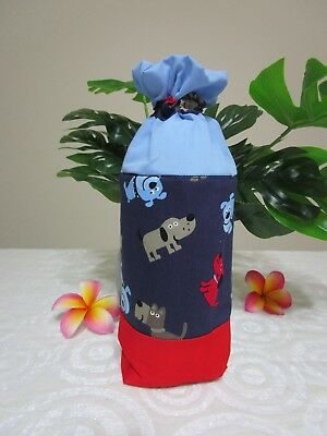 Insulated baby bottle bag-Dog's and puppies-Fits all baby bottle sizes.