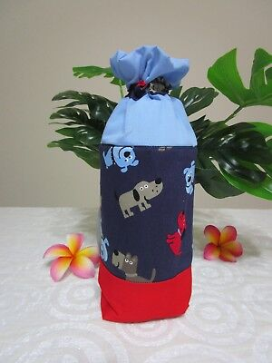Insulated baby bottle holder-Dog's and puppies-Fits all baby bottle sizes.