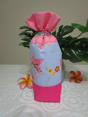 Insulated baby bottle holder-Butterflies-Fits all baby bottle sizes.
