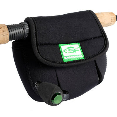 SF Spinning Reel Glove Protective Storage Bag Pouch Case Cover Fits up to 3000