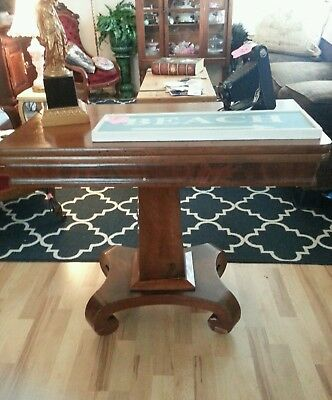 Antique Game Table.local Pick Up Only.olympia, Washington