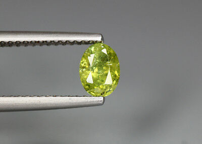 0.64 Cts_Electric Fire Rare Gemstone_100 % Natural Demantoid Garnet_Namibia