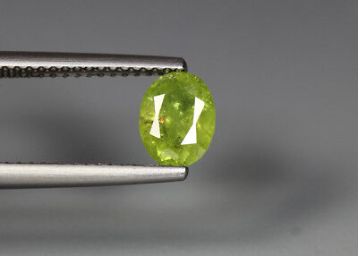 0.97 Cts_Electric Fire Rare Gemstone_100 % Natural Demantoid Garnet_Namibia