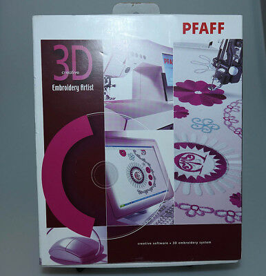3D Pfaff Creative Embroidery Artist New In Box 820483-026
