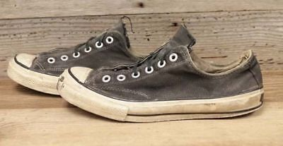 Converse Men's Chuck Taylor 60s Made in USA Vintage 09 Black Low Shoes sz 8