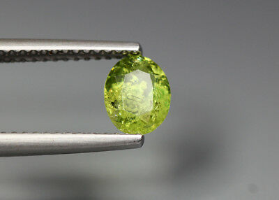 0.79 Cts_Electric Fire Rare Gemstone_100 % Natural Demantoid Garnet_Namibia
