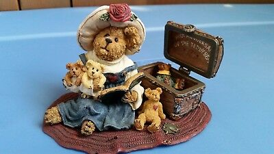 Boyds Bears Resin #227793V Bailey w/ Friends...100 Years  PREMIER EDITION