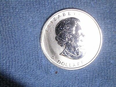2013   5.00 Canada MAPLE LEAF 99.99 pure silver coin