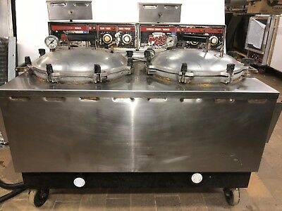 "Good Condition""SMOKAROMA AD-85"" COMMERCIAL 208/240V, 50A, PRESSURE COOKER/SMOKER"