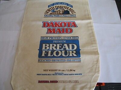New Collectible 75 Year North Dakota Mill and Elevator 25 # Flour Sacks
