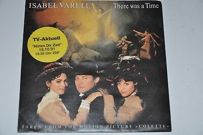 """Isabel Varell - There Was A Time - 7"""" Global Soundtrack Colette"""