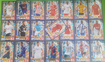 Topps Match Attax Champions League 2017/2018 Man of the Match aussuchen 397-418