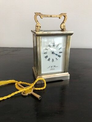Brass Carriage Clock J.W Benson London