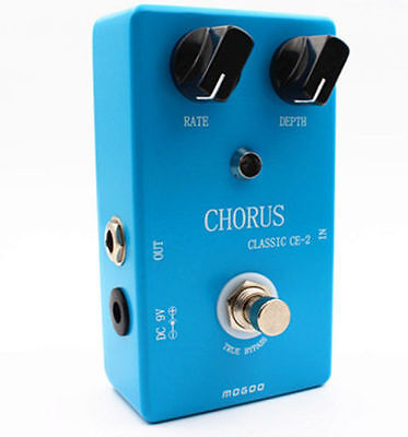 Classic Pedal Chorus CE-2 Guitar Effect Based on Boss Chorus true Bypass