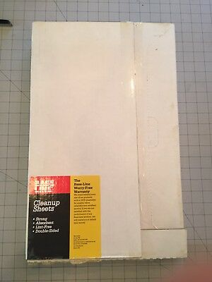 CleanUp Sheets: 11x18-5/8 Pinbar (Punched) AB Dick 360 Base Line