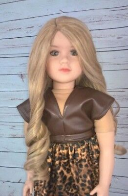 13-14 Custom Doll Wig fit My Twinn Dollmore Trinity Lusions ENGLISH MUFFIN bn1