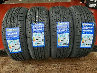 185 55 15 NEW Landsail HIGH MILEAGE Tyres 185/55R15 82V  C,C RATINGS VERY CHEAP