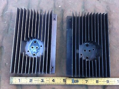 Two Aluminum Heatsink FREE SHIP
