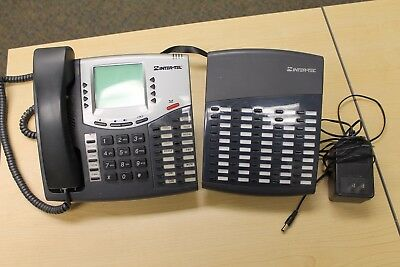 Inter-Tel 8560 w/8450 50-Button DSS Office Business Phone 550.8560 & 550.8450