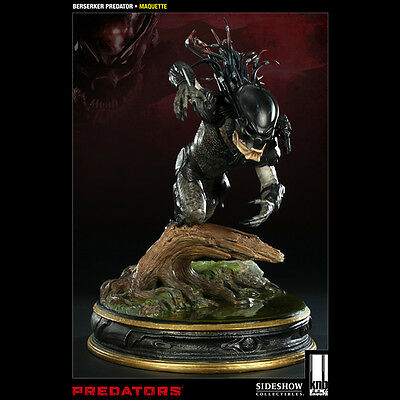 SIDESHOW Predators Berserker Maquette Statue Figure NEW SEALED SOLD OUT