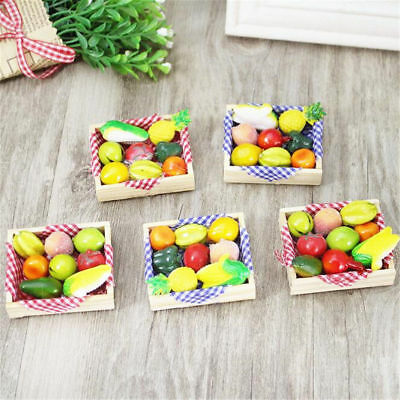 1X Novelty Simulation Fruit Fridge Magnet Refrigerator Sticker Wooden Home Decor