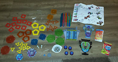 Geomag ca. 240 Teile Magnetspiel, Kids Panels, Color, wheels race, emotion power