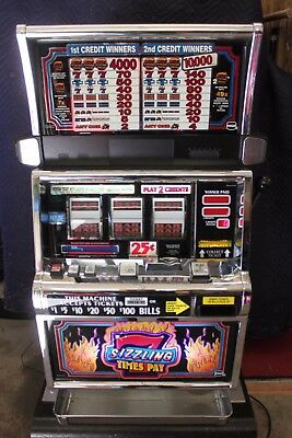 Authentic Sizzling Sevens Slot Machine
