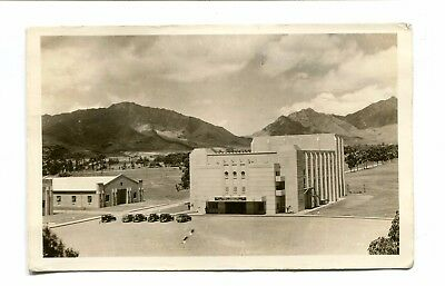 Vintage Postcard WW2 Hawaii Territory Schofield Barracks THEATRE & BOWLING ALLEY