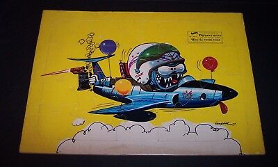 "Rare vintage 1963 Weird-ohs Picture Puzzle ""FREDDY"" flameout Hawk Model Co"
