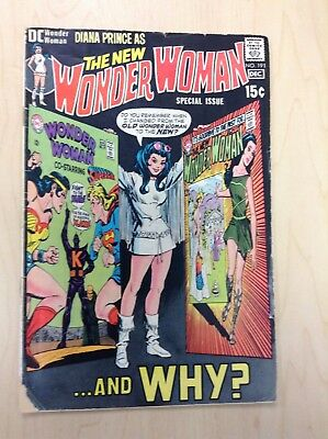 The New Wonder Woman #191 Special Issue (1970, DC) - Good Condition!