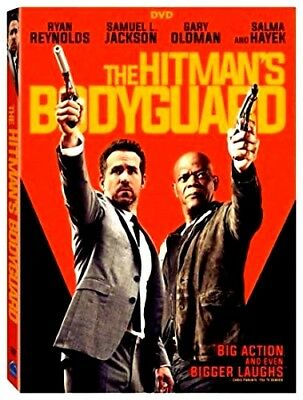The Hitman's Bodyguard (DVD 2017)NEW* Action, Comedy*PRE-ORDER SHIPS ON 11/22/17