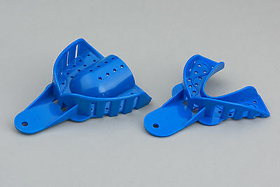 Dental Impression Trays - Upper & Lower - Size Options - Small, Medium or Large