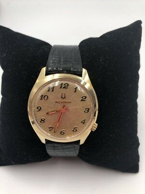 Vintage Bulova Accutron G.E.P.B Wrist Watch Non Working
