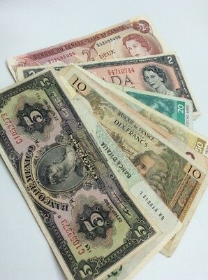 Assorted Foreign Paper Currency, Various Dates & Denominations