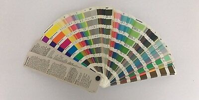Pantone Formula Guide Swatch Catalog 2000 Edition Used