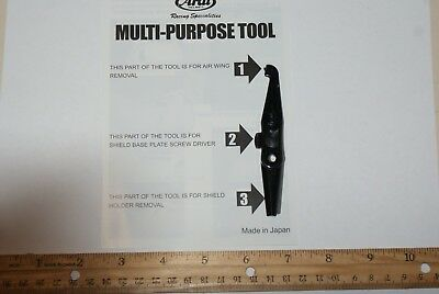 Arai Helmets new holder set tool - genuine product part Multi Purpose Tool
