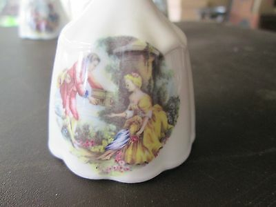 Vintage collectable bell picnic themed bone china buy 1 and 2nd half price deal