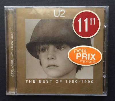 NEW sealed U2 The Best of 1980-1990 CD 1998 Canadian Print Sweetest Thing Mix