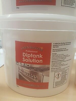 Oven Cleaning Dip Tank Powder - as used by professionals