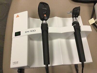 2 Heine Wall Transformers With Ophthalmoscope And Otoscope EN 100