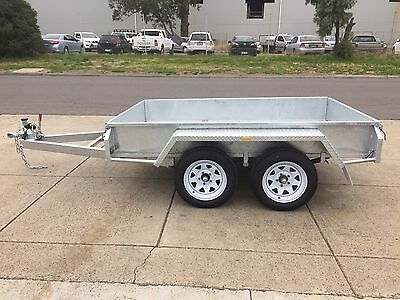 8x5 TANDEM BOX TRAILER - GALVANISED - AUSTRALIAN MADE – NEW WHEELS & TYRES