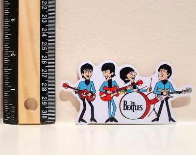 """The Beatles Jam Session Band 2x4"""" Decal Sticker #4381"""