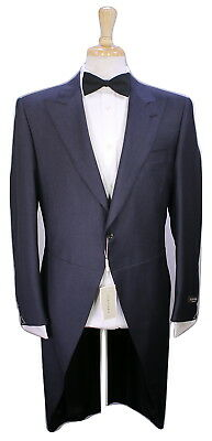 NWT New * CANALI * 2017 Charcoal Royal Ascot Morning 2-Pc Wool Tails Suit 38R