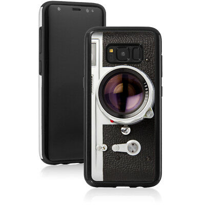 For Samsung Galaxy S7 Edge S8 + Note 8 Shockproof Hard Case 818 Vintage Camera