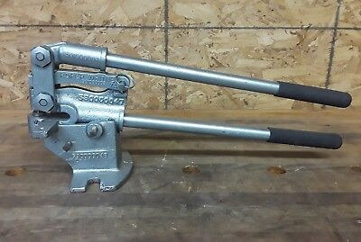 Roper Whitney Model 7A Sheet Metal Punch with Modified Bench Mount