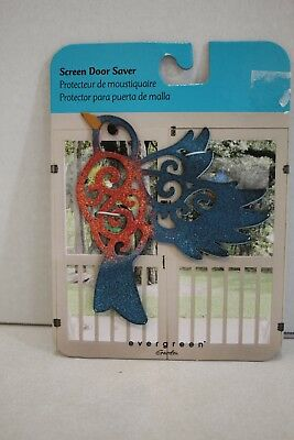 Evergreen Garden Magnetic Screen Door Saver Red Amp Blue