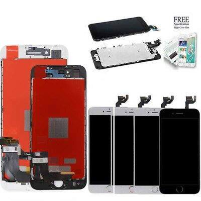 For iPhone 6 Plus Digitizer Complete Screen Replacement LCD Touch + Home Button