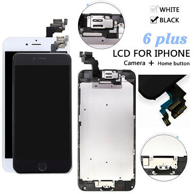 Complete LCD Touch Screen Digitizer Parts Button Camera 5.5 For iPhone 6 Plus