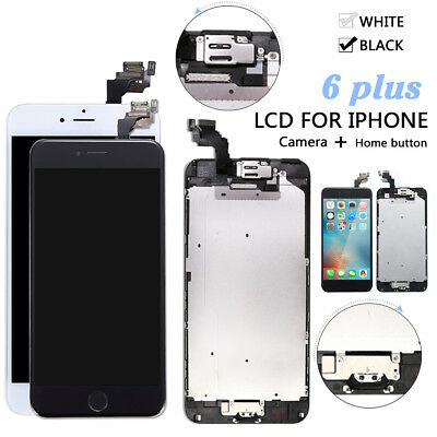 5.5 For iPhone 6 Plus Digitizer Complete Screen Replacement LCD Touch + Button