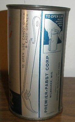 Super Nice First Type Long Opener Pabst Export Beer Can Bcca 111-7 Display Empty